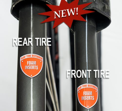 Elite - 2 tire image with Rear-Front labels - NEW BURST