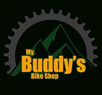 my buddy's bike shop logo