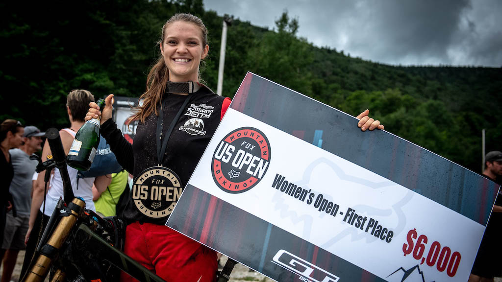 US Open-Vaea Verbeeck with the big check in 2018